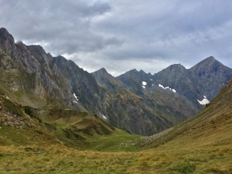 The Valier massif opens out