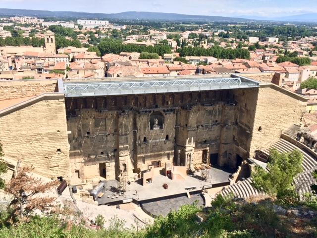 The ancient Roman theatre, Orange, Provence