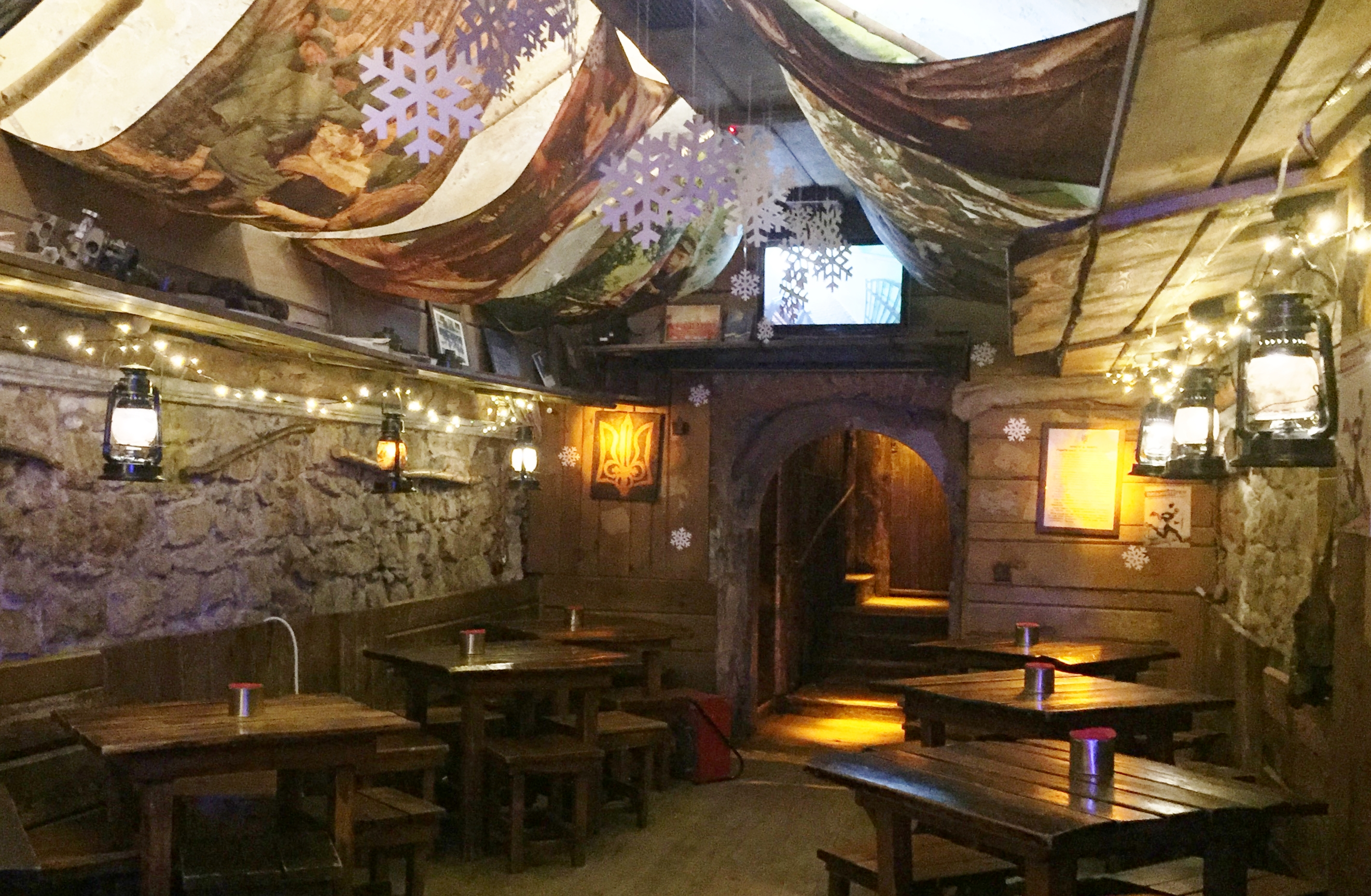 Insurgency theme bar, Lviv