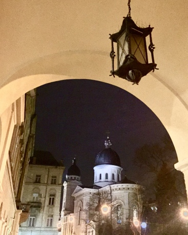 Night time Lviv