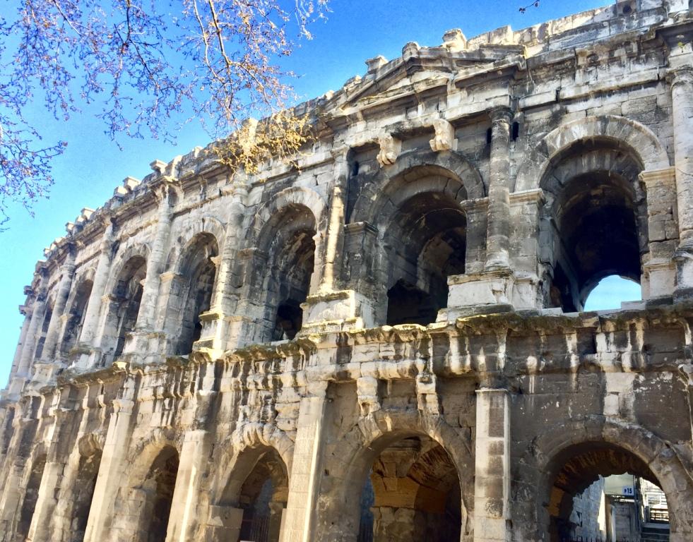Arènes de Nimes amphitheatre