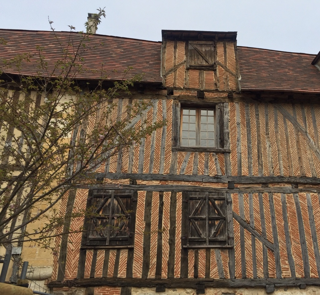 Half-timbered buildings, Bergerac