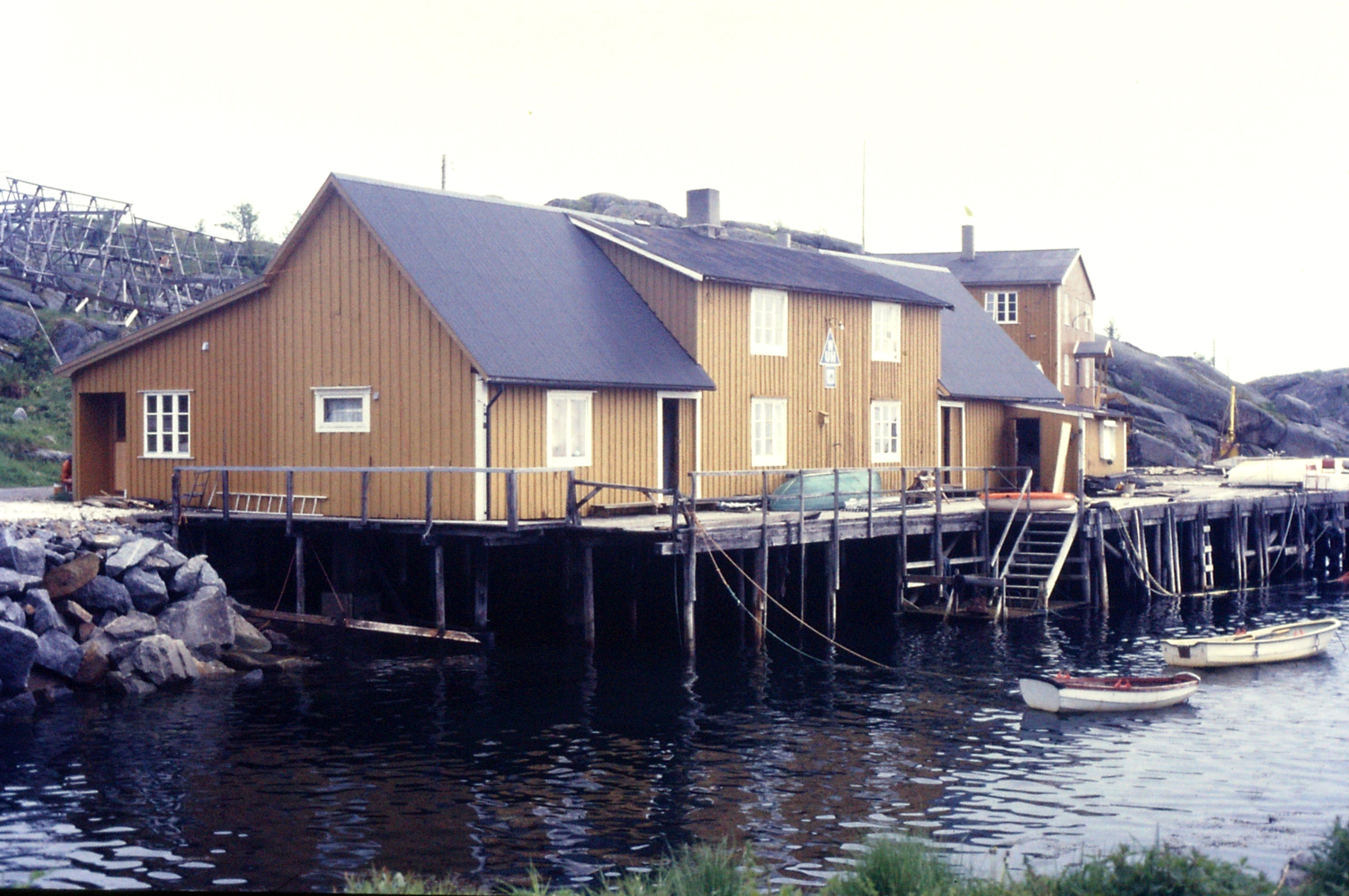 Stamsund, Lofoten, Norway, 1980s