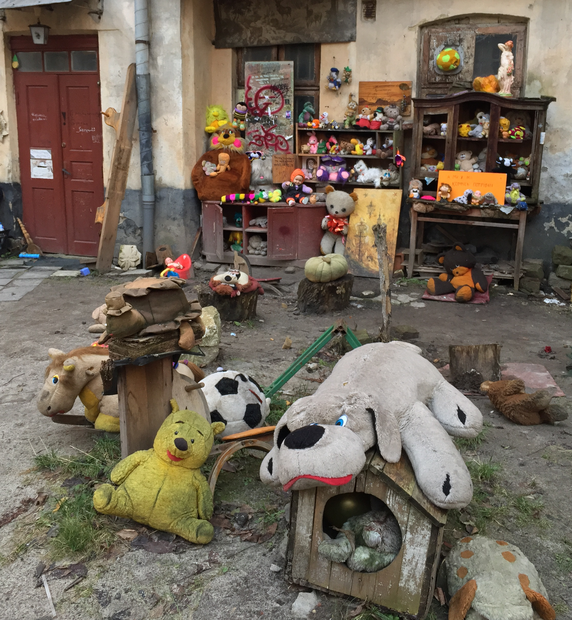The Yard of Lost Toys, Lviv
